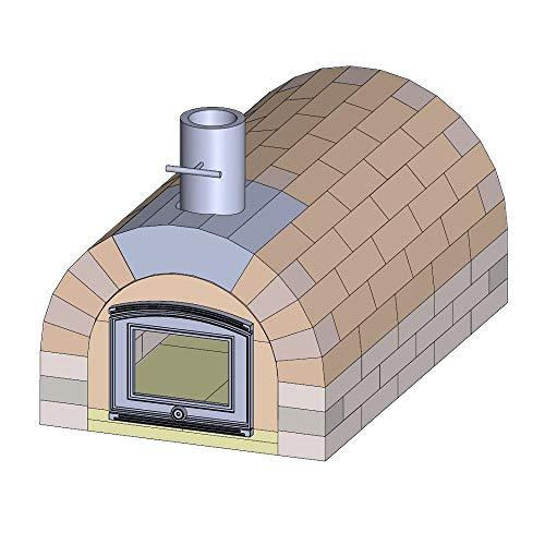 PUR Fireclay Pizza Oven Kit Tuscany Premium XXL