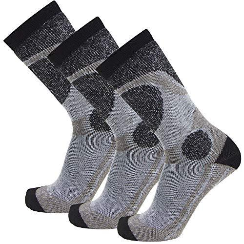 Pure Athlete Elite Ski Socks for Boys and Girls - Kids Merino Wool Youth Snowboard