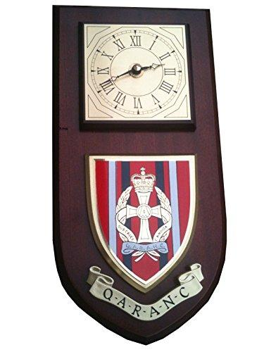 QARANC Queen Alexandra's Royal Army Nursing Corps Military Wall Plaque Clock