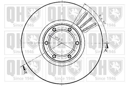 QH-Benelux BDC3243 Brake Disc