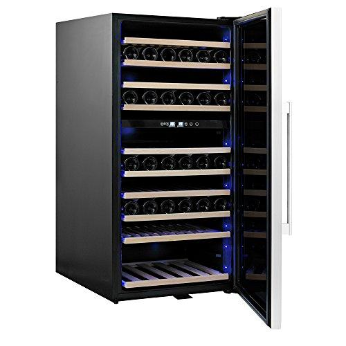 Qlima Wine Bottle Wine Cooler Fridge 110 10 Shelves Home Restaurant fwk16110
