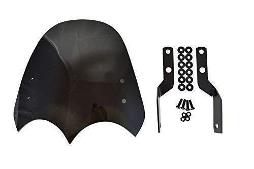 Quality Motorcycle Motorbike Windscreen Wind Shield Retro Dominator Streetfighter Trike
