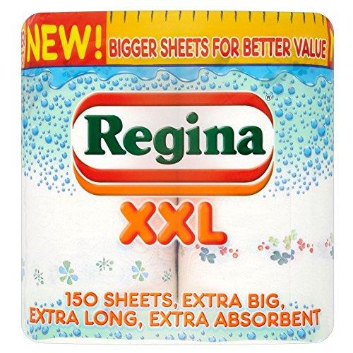 Queen XXL Kitchen Towels - 75 Sheets Per Roll (2) (Pack of 2)