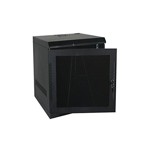 "Quest Manufacturing Fez-Assembly Wall Mount Enclosure, 11 Unit, 19"" x 20.5W x 20""D, Black (EZ19-11-02)"
