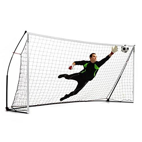 QUICKPLAY 16x7' Kickster Academy - Ultra Portable Football Goal includes Football Net and Carry Bag