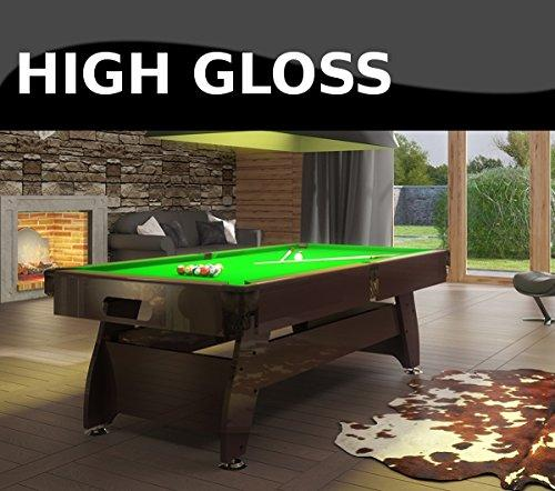 RADLEY Pool Table FT Vintage High Gloss Options To Customise - How high is a pool table