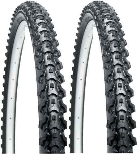 Raleigh Eiger Tyre - Wired - Black - 26 x 1.95 - Pair
