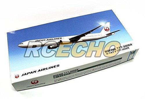 RCECHO® Hasegawa Aircraft Model 1/200 JP Airlines Boeing 777-300ER 19 Hobby 10719 H0719 174; Full Version Apps Edition