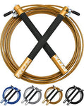 RDX Adjustable Steel Gym Skipping Jump Speed Rope Fitness Boxing Weight Loss Cable Training Workout Exercise