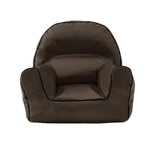 Ready Steady Bed Brown Children's Toddler Water Resistant Filled Bean Bag Armchair Lounger Seat