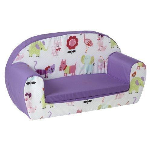 Ready Steady Bed Childrens Toddler Foam Sofa, Cute Pets