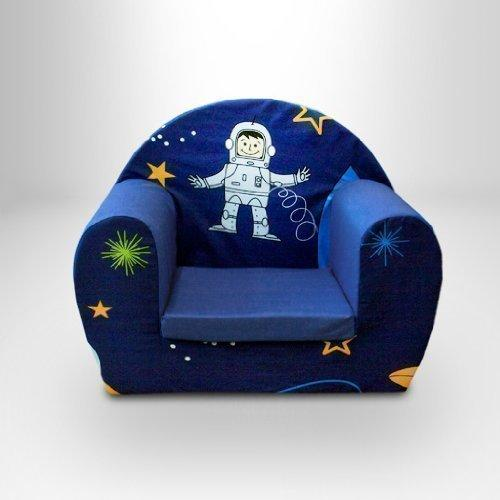 Ready Steady Bed Childrens Toddlers Foam Armchair, Space Boy