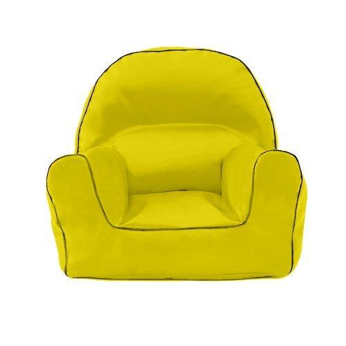 Ready Steady Bed Yellow Children's Toddler Water Resistant Filled Bean Bag Armchair Lounger Seat