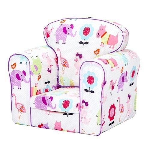 Ready Steady Bed® Cute Pets Design Upholstered Children's Armchair with Removable Cover