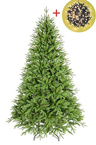 real feel christmas tree lights included pvc pe real touch chamonix artificial