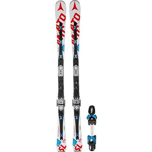 Redster Doubledeck 3.0 SL Slalom Skis with X 12 TL Bindings, Men Womens, weiss / rot, 159