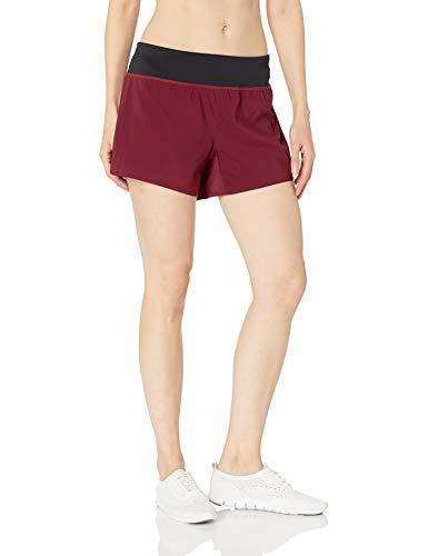 Reebok 4in Woven Shorts, Rustic Wine, Small