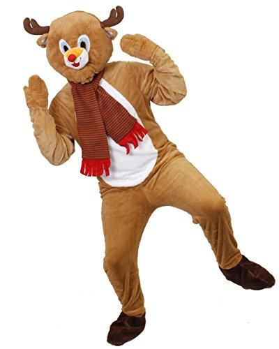 ... REINDEER COSTUME ADULTS CHRISTMAS FANCY DRESS ONESIE XMAS OUTFIT RUDOLPH SANTAu0027S HELPER RUDOLF REINDEER (ONE ...  sc 1 st  High Quality Store - Shopify & REINDEER COSTUME ADULTS CHRISTMAS FANCY DRESS ONESIE XMAS OUTFIT ...