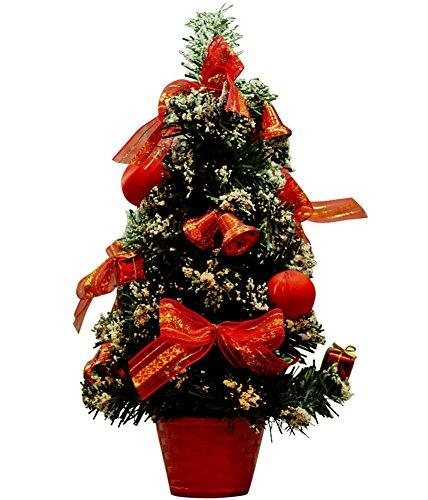 remeehi christmas decorations mini pine cone and berry tree in basket xmas desk top tree decorations