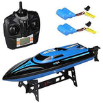 Remote Control Boats for Pools and Lakes - Remote Controlled RC Boats for Kids or Adults, Self Righting High Speed Boat Toys for Boys or Girls