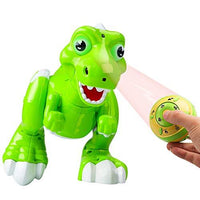 Remote Control Dinosaur Toy, AOMEIQI Spraying Water RC Interative Toys Walking Electronic Pet Cuddly Light Up Eyes Dragon with Sing Dance Music Function for Kids Boys Girls Birthday Gift, Green