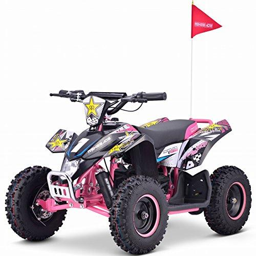 Renegade LT100E Electric Battery 1000w Quad Bike - 4 Colours (Pink)