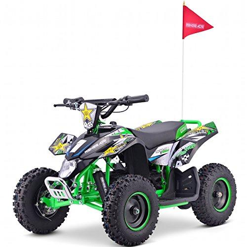 Renegade LT100E Electric Battery 1000w Quad Bike - Green