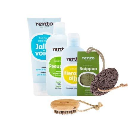 Rento - Pack Care Body for Sauna of Shower Hammam
