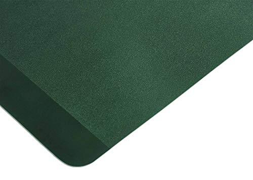 Resilia Heavy Duty Exercise Equipment Mat for Treadmill, Stationary Bike, Elliptical and Rowing Machine, 27 Inches X 8.5 Feet, Green, Made in USA