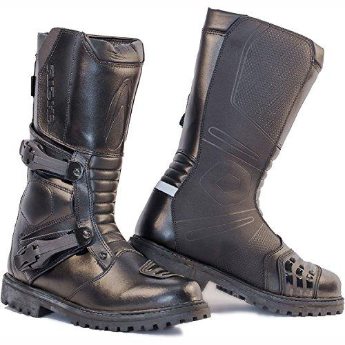 Richa Adventure Motorcycle Boots 42 Black (UK8)