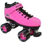 Riedell Dart Quad Roller Derby Speed Skates, Pink,Mens 5 / Ladies 6