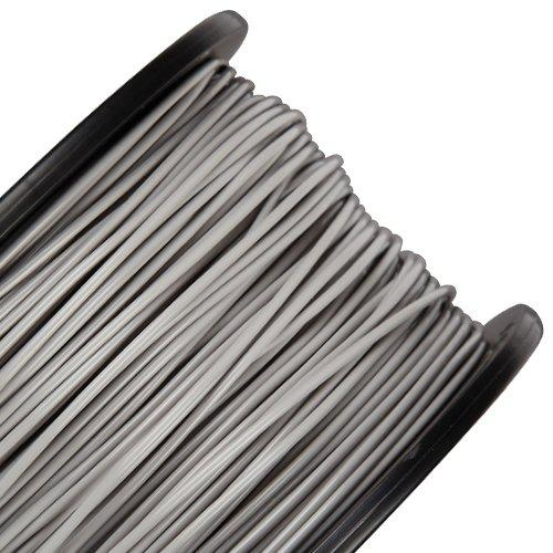 rigid.ink The Most Reliable Grey ABS Filament 1.75mm for 3D Printing and Pens *0.03mm+/- Tolerance* 3D Printer Filament 1KG Spool