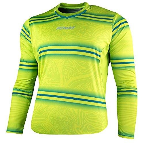 922906d264b Rinat Kids' Gypsy Goalkeeper Jersey, Neon Yellow/Green, Large/Youth ...