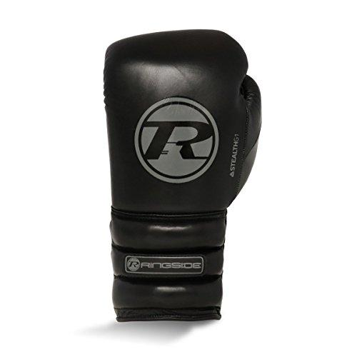 Ringside Boxing Stealth Series Super Pro Spar Glove Lace Black/Grey