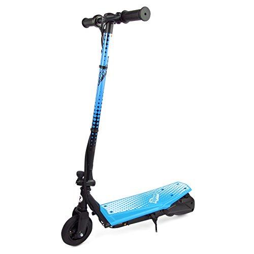 Ripsar Blue 24v Kids Electric Scooter with Air Tyre