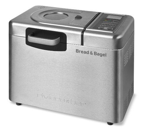 Riviera & Bar - QD794A - Bread & Bagel Bread Maker - Stainless Steel