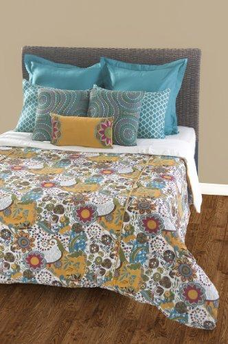 Rizzy Home Carmen 8-Piece Duvet Set with Poly Insert, Queen