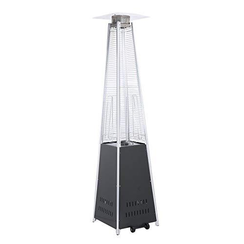 RoadRoma 12KW Quartz Glass Tube Commercial Patio Heater Camping Gas Patio Heater