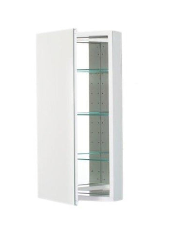 Robern Plm2030W Pl Series Flat Plain Mirrored Door, 19-1/4-Inch W By 30-Inch H By 3-3/4-Inch D, White Interior