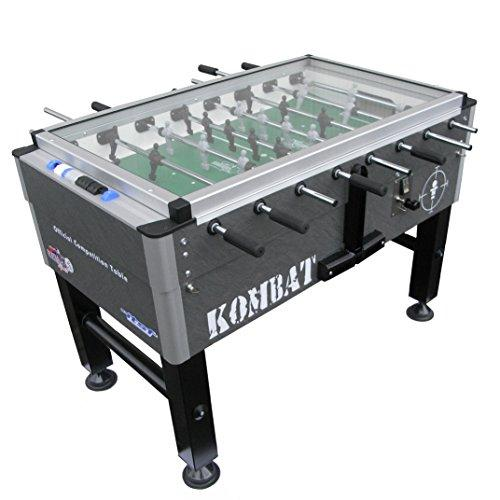 ROBERTO SPORT - KOMBAT COVER - Football table - telescopic rods + coin mechanism - Grey -
