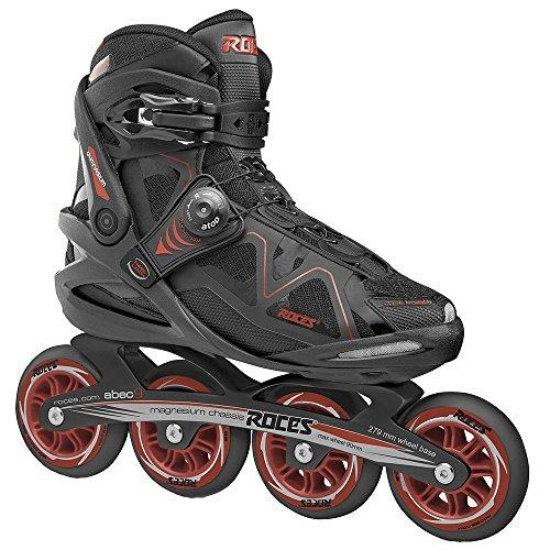 Roces Mens Gymnasium 2.0 M Inline Skates Blades 400803 (Black/Red 12)