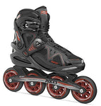 Roces Womens Gymnasium 2.0 W Inline Skates Blades 400804 (Black/Red 8)