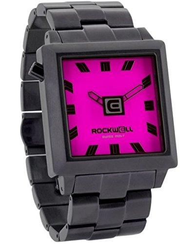 Rockwell Time Women's 40mm2 Watch, Gunmetal/Pink