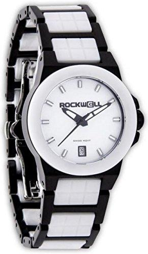 Rockwell Time Women's Katelynn Watch, Black/White Ceramic