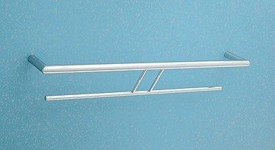 Rohl SY200-APC Modern 61cm Double Towel Bar Polished Chrome, Towel Bar