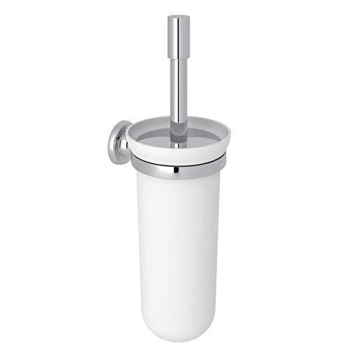 Rohl U.6438APC Perrin & Rowe Transitional Wall Mounted Toilet Brush Holder, Polished Chrome