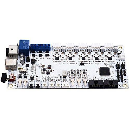 ROKOO UM2 3D Printer Parts Full Set Mother Board with OLED Screen Controller Panel Kit for Ultimaker2