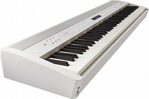 Roland fp-60 88llaves White Digital Piano – Electronic keyboard (4 W, 22 W, 1291 mm, 344 mm, 125 mm, LCD)