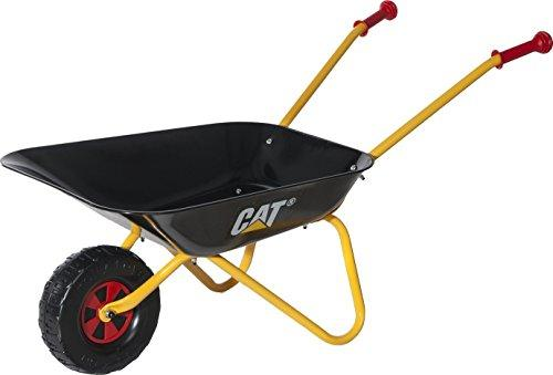 Rolly Toys - Metal Wheelbarrow with CAT / Caterpillar Brand - Black & Yellow