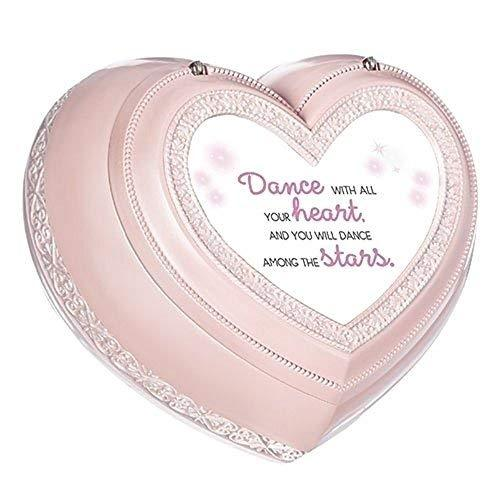 Roman Dance With All Heart Music Box, Pink, Large